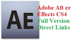 Adobe After Effects CS4 Crack