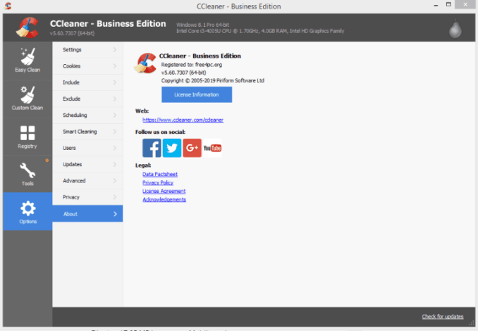 CCleaner Professional Crack With Activation Keys 2021 Download