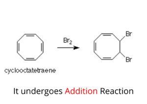 Cyclooctatetraene-reacton