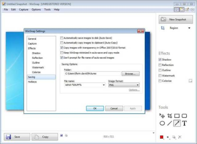 winsnap-Registration key