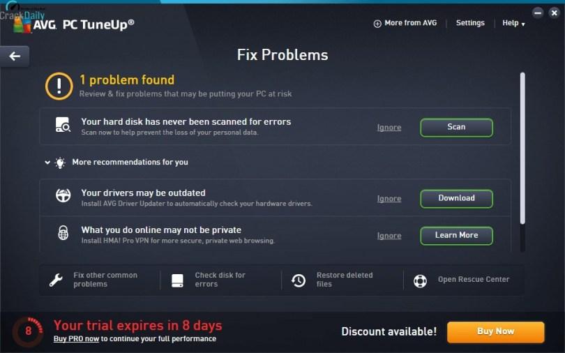 AVG PC TuneUp Screenshot 2
