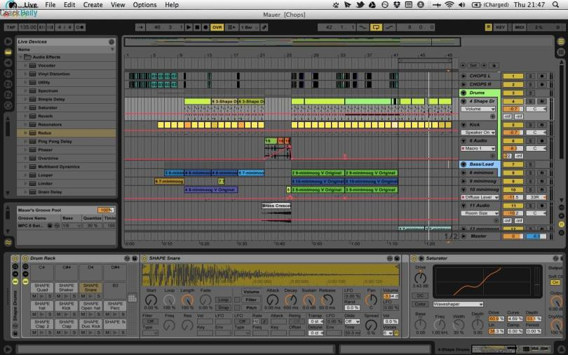 Ableton Crack Live Suite Screenshot