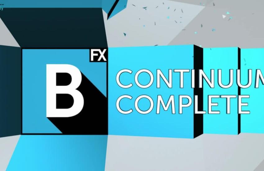 Boris FX Continuum Complete Cover
