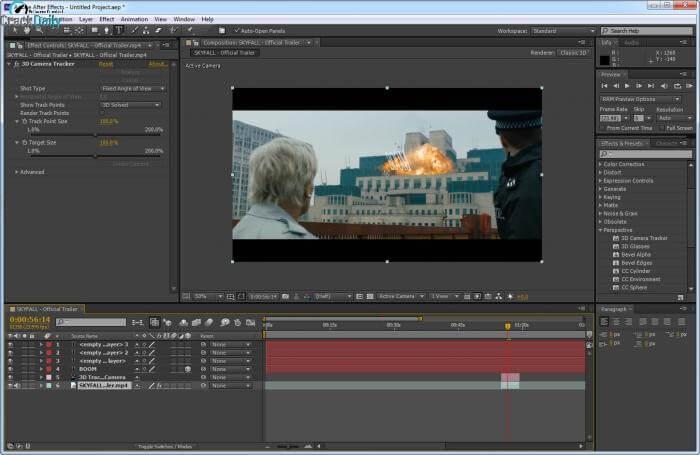 Adobe After Effects CC Screenshot