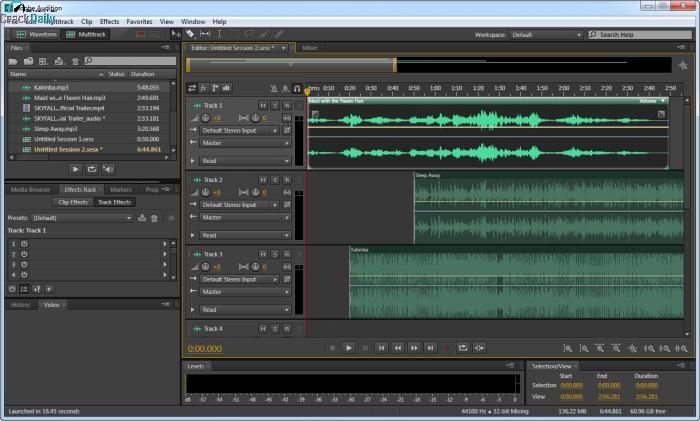 Adobe Audition CC Screenshot