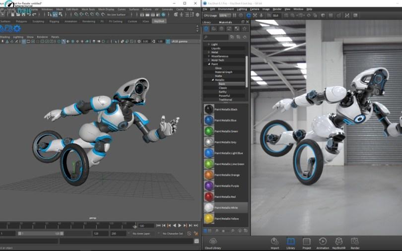 Luxion KeyShot Pro Screenshot