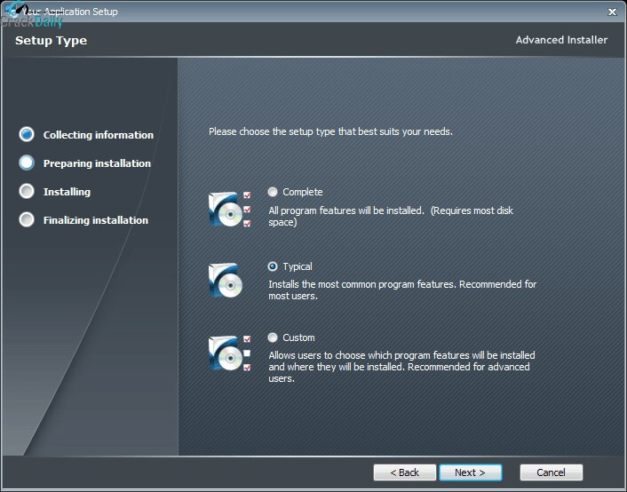 Advanced Installer Architect Screenshot