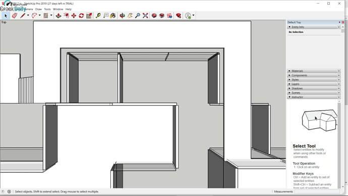 SketchUp Pro Screenshot