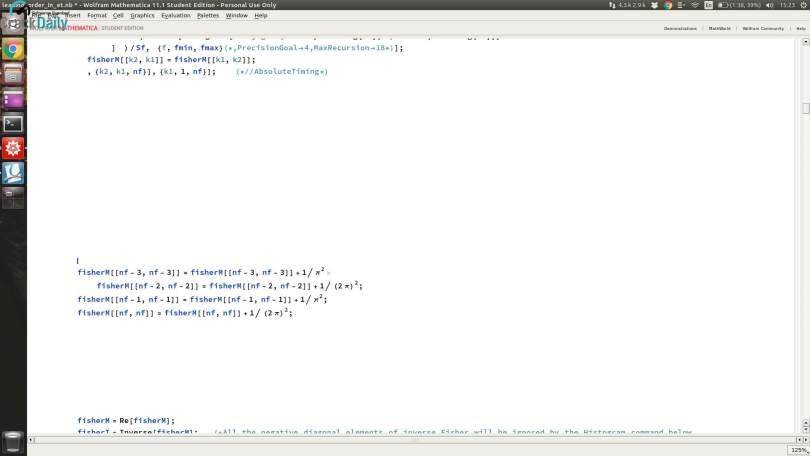 Wolfram Mathematica Screenshot