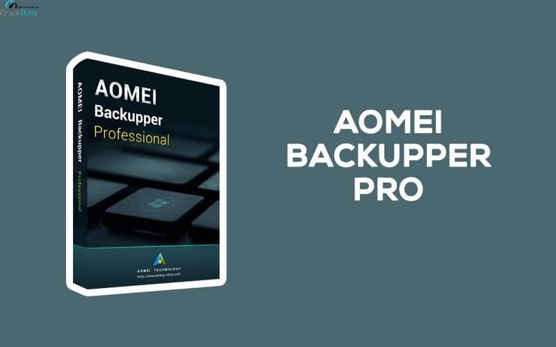 AOMEI Backupper Professional Cover