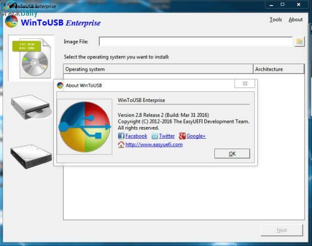 WinToUSB Enterprise Screenshot