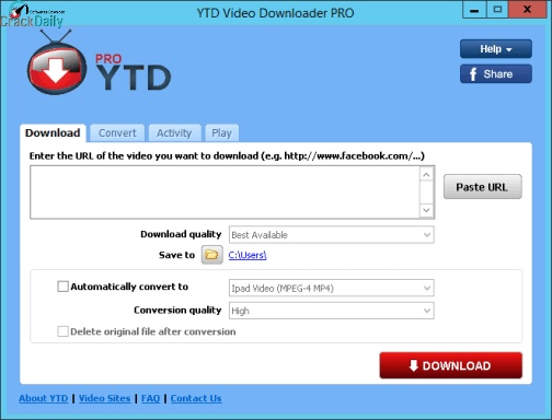 YTD Video Downloader Pro Screenshot