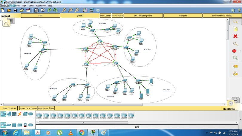 Cisco Packet Tracer Screenshot