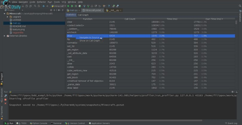 PyCharm Professional Screenshot