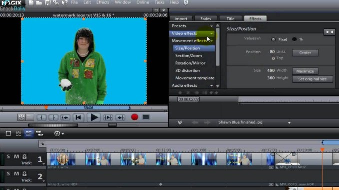 MAGIX Movie Edit Pro Premium Full Version Crack Free Download