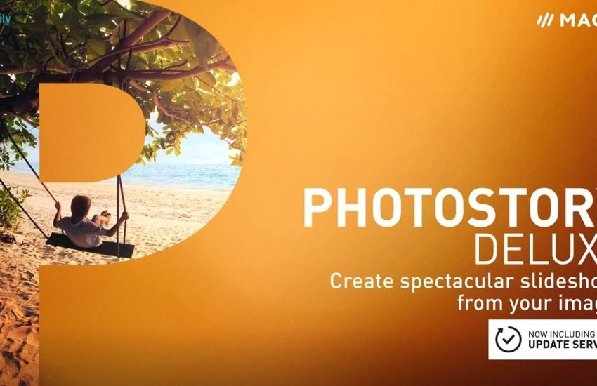 MAGIX Photostory Deluxe Cover