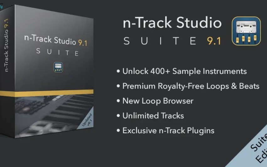 n-Track Studio Suite Logo