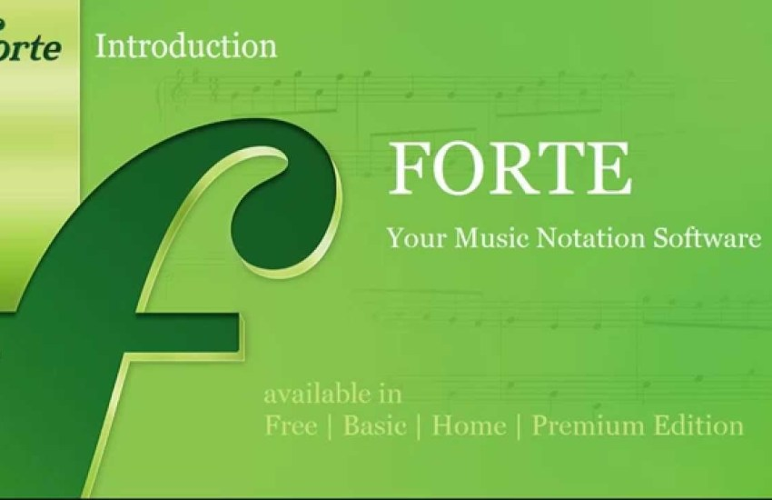 Forte Notation FORTE Cover