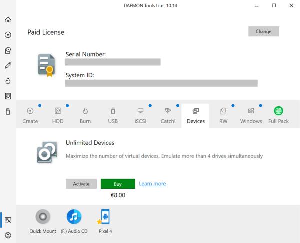 DAEMON Tools Pro 8.3.1 Crack