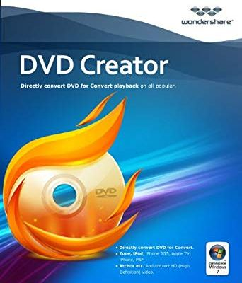 Wondershare DVD Creator 6.3.1.173 Crack Plus Registration Key 2020