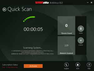 STOPzilla AntiVirus 8.1.1.410 Crack With Serial License Keygen 2020