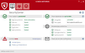 G DATA AntiVirus 25.5.6.20 Crack + Activation Key Free Torrent 2020