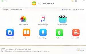 WinX MediaTrans 7.1 Crack + Registration Key [Mac/Win] Full Version