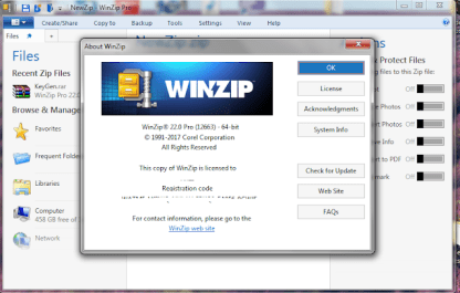 WinZip Pro 23.0 Build 13300 Crack & License Key Free Download