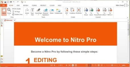 Nitro Pro 12.6 Crack + Activation Key Full Free Download