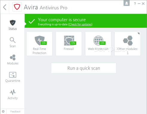 Avira Antivirus Pro 2019 Crack And License Key Full Free Download