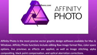 Affinity Photo Crack Full Version Free Get