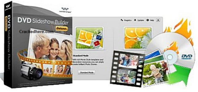 Wondershare DVD Slideshow Builder Crack Full Keys