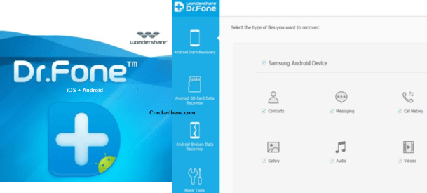 wondershare dr. fone android data recovery crack