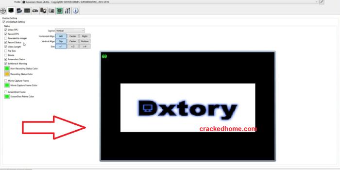 Dxtory Crack Free