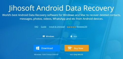 Jihosoft Android Phone Recovery Crack