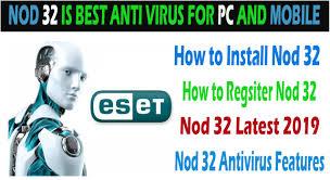 ESET NOD32 Antivirus 12.1.34.0 Crack Free Download