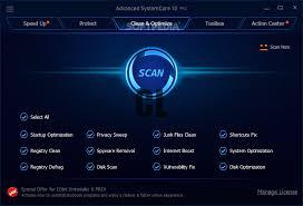 Advanced SystemCare Pro 12.1.0.210 Crack With Keygen Download
