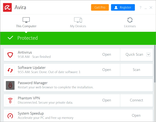 Avira Antivirus Pro Serial 15.0.1908.1579 License Key Full Crack