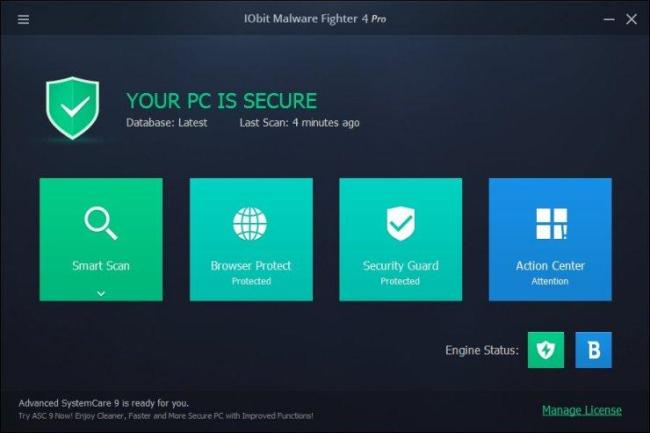 IObit Malware Fighter Pro License Key Full Download