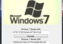 Windows 7 Product key