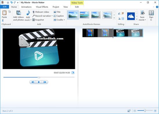 Windows Movie Maker Crack With Registration Code 2021 Free Download
