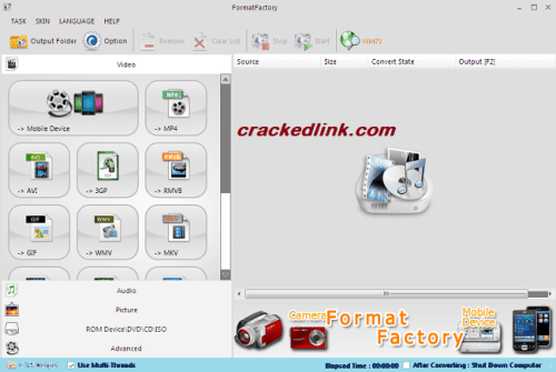 Format Factory 5.7.0 Crack With Keygen 2021 Free Download