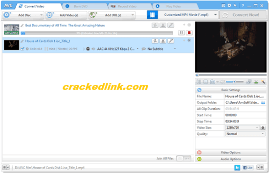 Any Video Converter Ultimate 7.1.1 Crack With Serial Key 2021 [Latest]