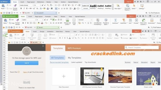 WPS Office 2019 11.2.0.9937 Crack With Activation Key Free Download