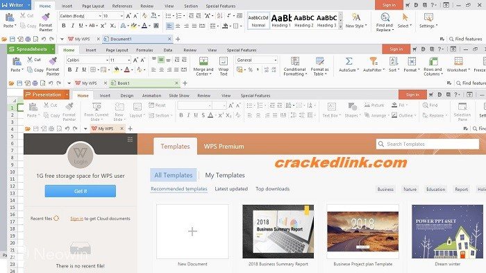 WPS Office 11.2.0.10223 Crack With Activation Key 2021 Free Download