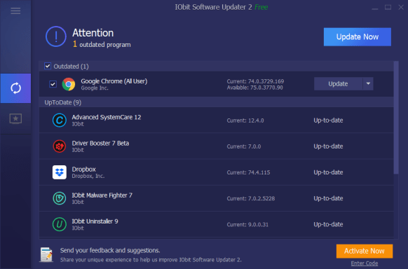 IObit Software Updater Pro 4.0.0.99 Crack With License Key [2021]