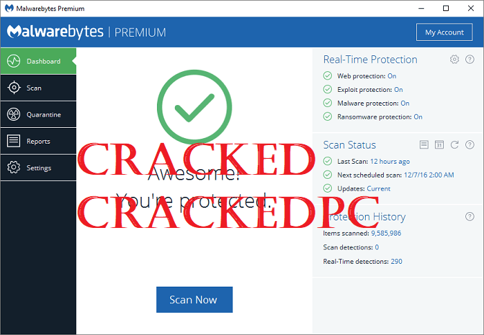 Malwarebytes Crack With License key