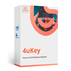 Tenorshare 4uKey 2 0 1 1 Crack full Registration Code Latest {2019}