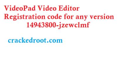 Videopad Video Editor 10 09 Crack Plus Registration Code
