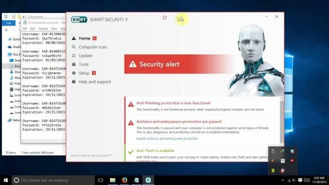 crack eset smart security 9 key